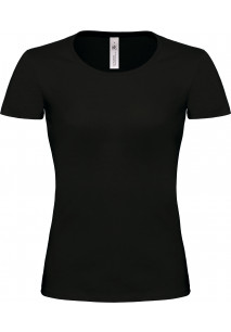 T-shirt de senhora com decote à barco Exact 190