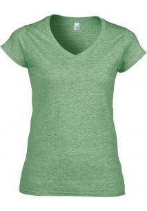 SOFT STYLE LADIE'S V-NECK T-SHIRT T-shirt de senhora com decote em V