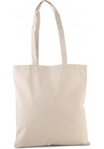 Saco de compras clássico em algodão biológico