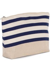 Bolsa para acessórios com padrão de marinheiro