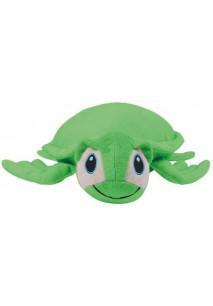 Tartaruga de peluche com fecho