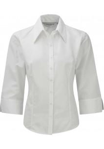 Camisa de senhora de mangas 3/4 em Tencel