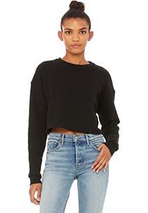"""Sweatshirt """"crop"""" de senhora"""
