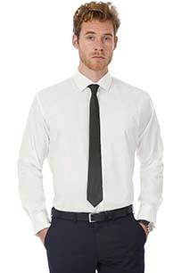 """Camisa de homem com stretch de manga comprida """"Black Tie"""""""