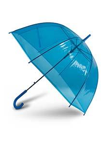 Chapéu de chuva transparente