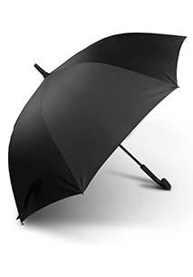 Chapéu de chuva clássico pega curva