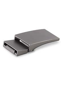 Fivela em metal para cinto em silicone