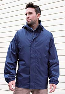 Parka 3 em 1 with quilted Bodywarmer