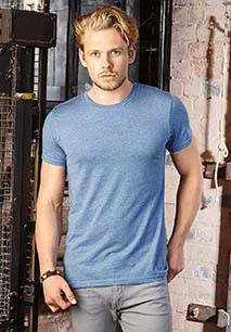 T-shirt HD sublimável com decote redondo