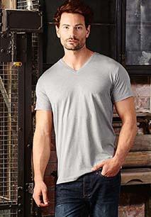 T-shirt HD sublimável com decote V