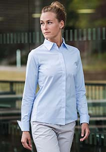 Camisa de senhora de manga comprida Ultimate Stretch