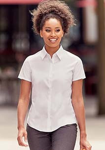 Camisa de senhora de manga curta Ultimate Stretch