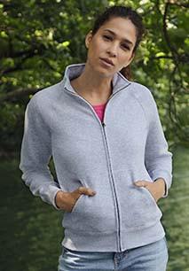 Casaco sweatshirt de senhora Classic (62-116-0)