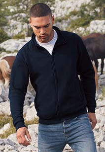 Casaco sweatshirt de homem Classic (62-230-0)