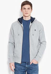 Sweatshirt com capuz e fecho River