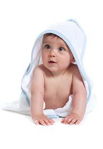 Toalha de banho bebé