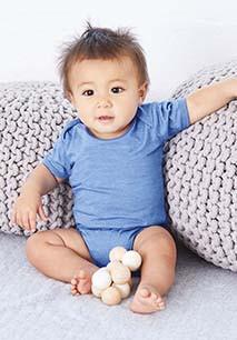 Body de bebé manga curta