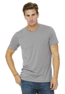 T-shirt Triblend unissexo decote redondo