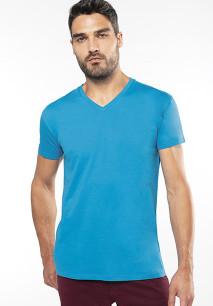T-shirt BIO15 de homem decote V