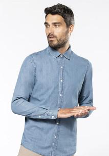 Camisa de homem em denim