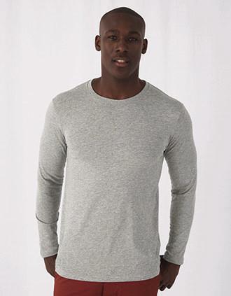 T-shirt Inspire de homem bio de manga comprida