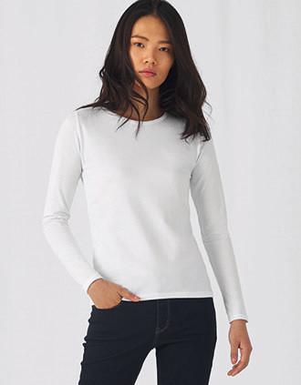 T-shirt de senhora de manga comprida #E190