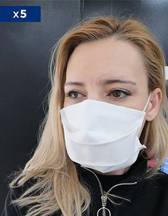 Máscara comunitária não cirúrgica  (Cat. 1 segunda a norma AFNOR)- Vendidas numa embalagem de 5 ex