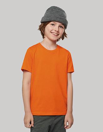 T-shirt de criança BIO150 com decote redondo
