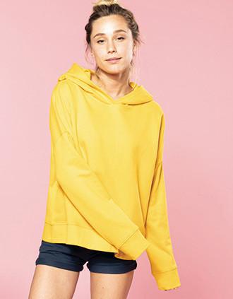 Sweatshirt de senhora com capuz Lounge Bio