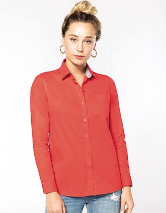 Camisa Nevada de senhora de manga comprida