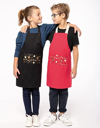 Avental de Natal para criança Origine France Garantie