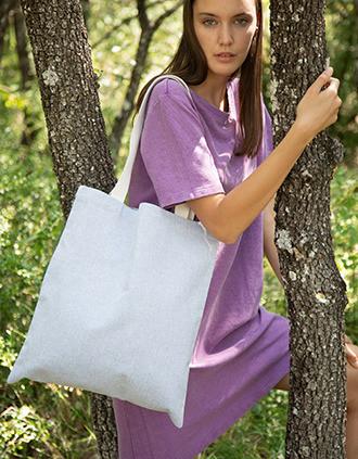 Saco de compras em material reciclado