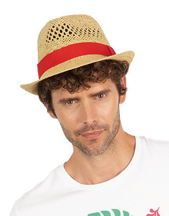 Chapéu de palha estilo Panamá