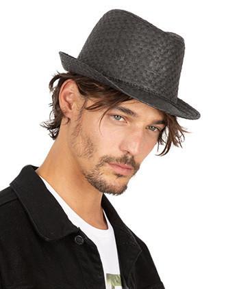 Chapéu de palha estilo Panamá retro