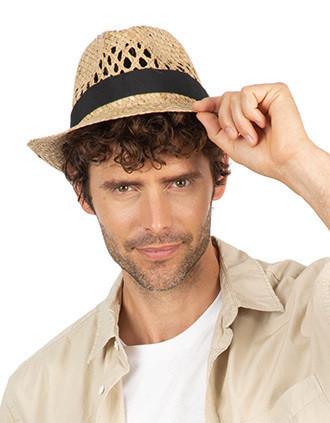Chapéu Panamá entrançado