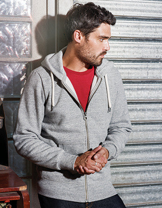 Casaco sweatshirt vintage de homem com capuz