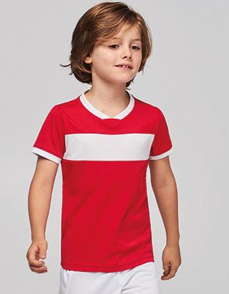 T-shirt de manga curta de criança