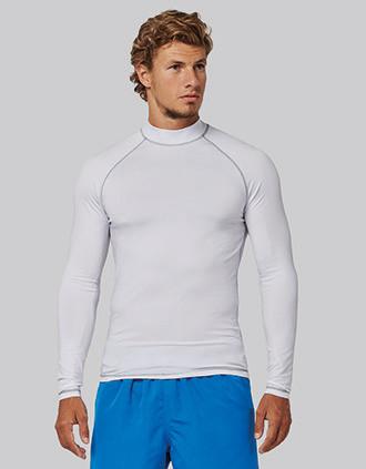 T-shirt técnica de manga comprida com protecção anti-UV para adulto