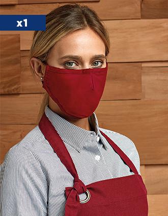 Máscara de 3 camadas reutilizável – elásticos ajustáveis – AFNOR UNS1