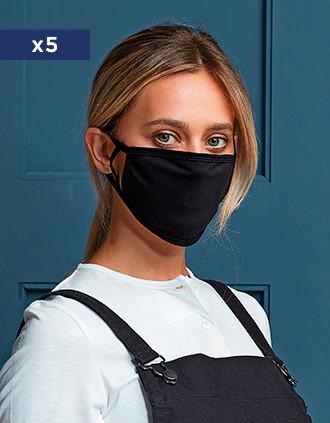 Máscara de protecção reutilizável - AFNOR UNS 1
