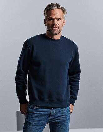 Sweatshirt com decote redondo Authentic
