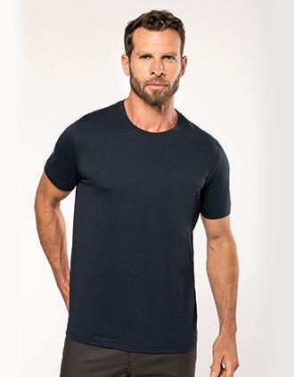 T-shirt decote redondo eco-responsável de homem