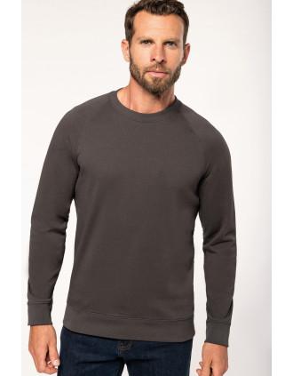 Sweatshirt decote redondo